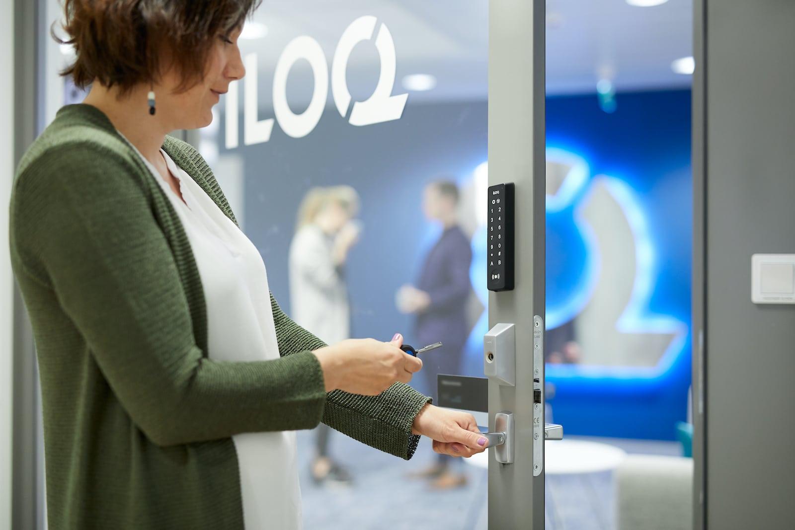 iLOQ sluitsysteem digitale sleutel